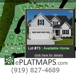 interactive plat maps application
